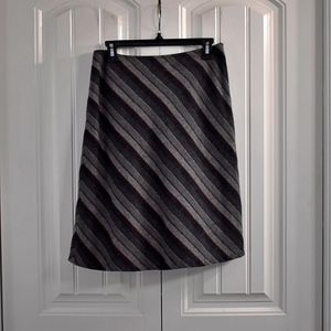 Gap Wool Blend Grey Black Skirt size 4